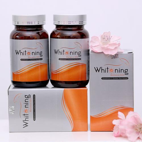 viên uống whitening melanin