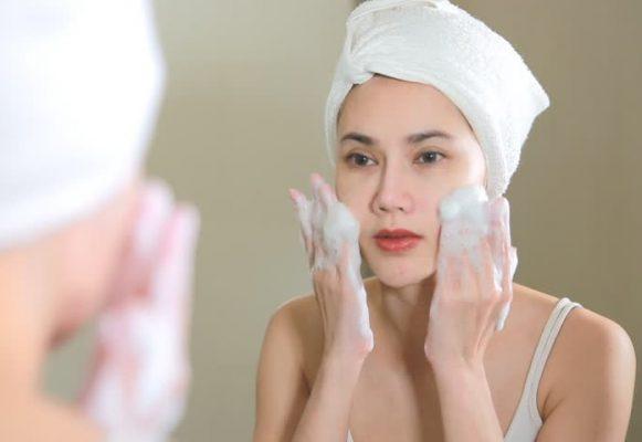 sparie hướng dẫn rửa mặt